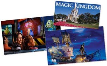 O MAGIC KINGDOM divide-se em seis áreas temáticas  025a3b5a9a984
