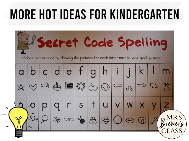 Word work activities and literacy ideas for Kindergarten