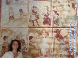 afrescos monte soratte guia portugues - Monte Soratte - bate-e-volta de Roma