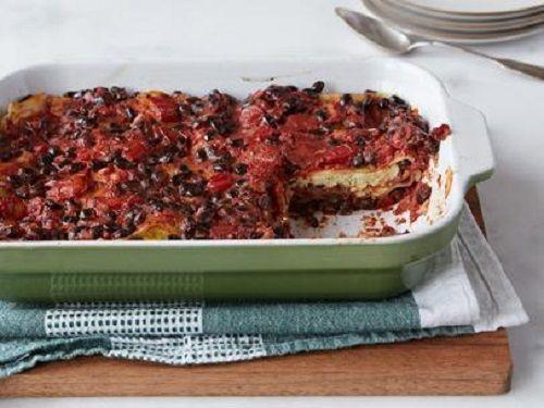 lasagna cu fasole rosie
