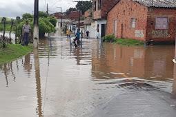 Fortes chuvas: Prefeitura de Riachuelo decreta Estado de Emergência