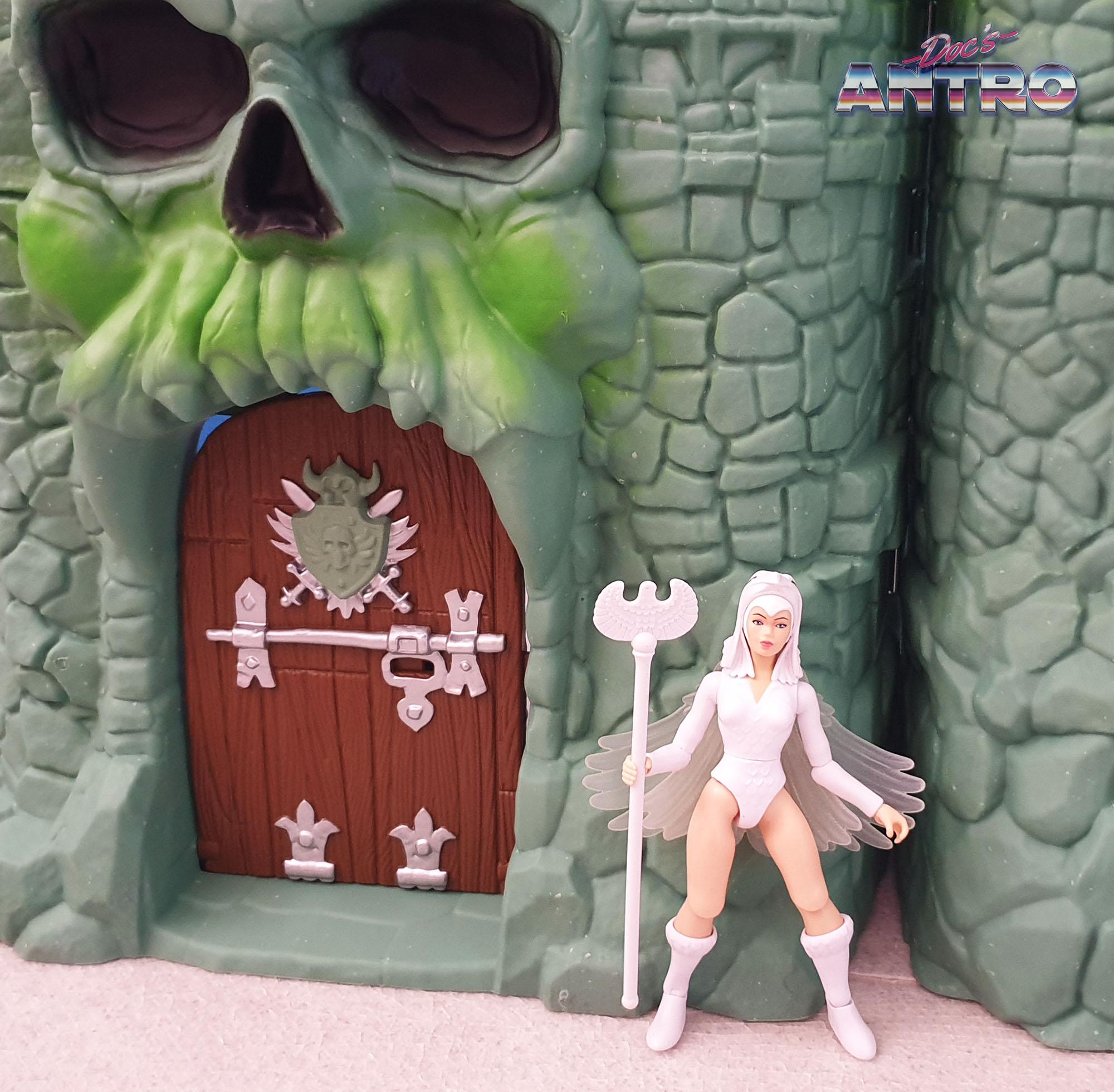 Masters of the Universe Origins Castello di Grayskull Castle Antro recensione Sorceress