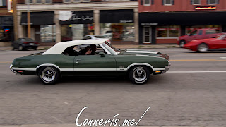 Draggin Douglas Green Oldsmobile 442 W-30 2