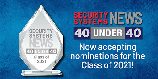 """CONSULTANT """"40 under 40"""" award - Open to any security industry consultant. (image)"""