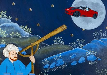 Halil Altındere - Tesla to the Moon, 2019