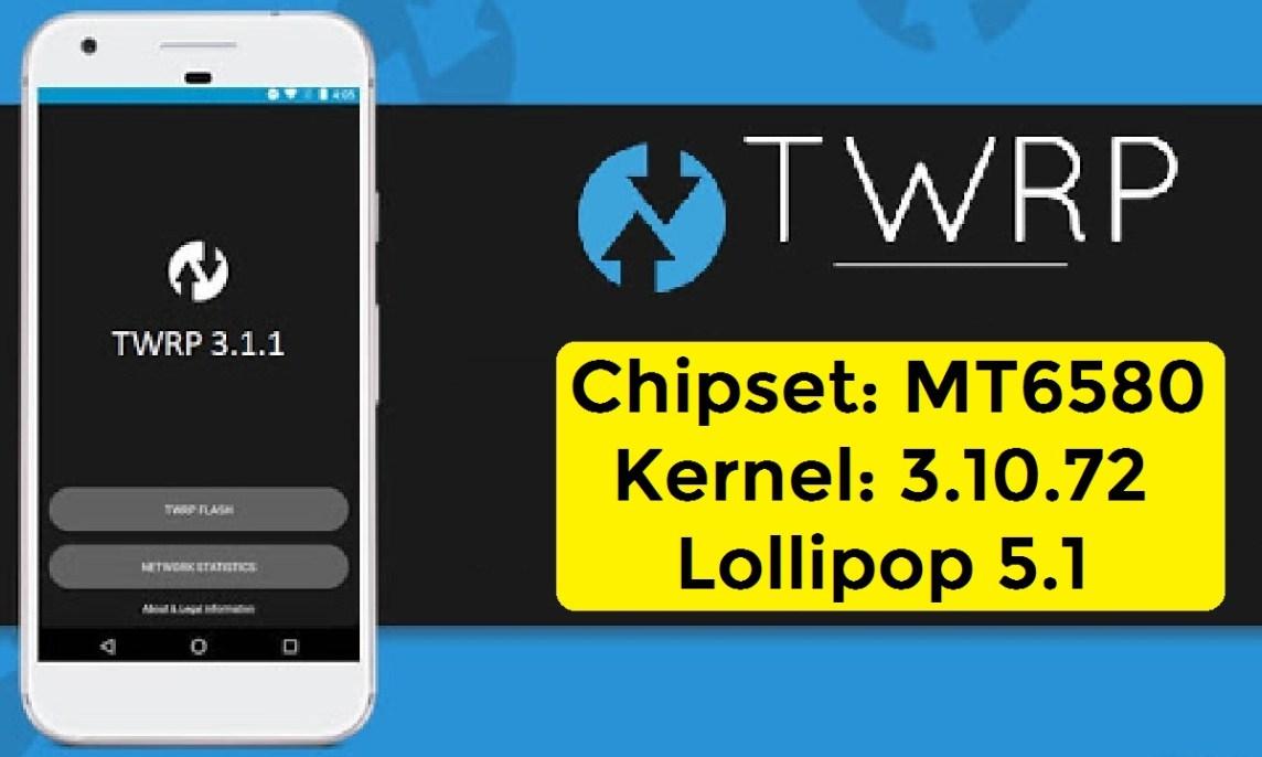 Twrp Mt6580m