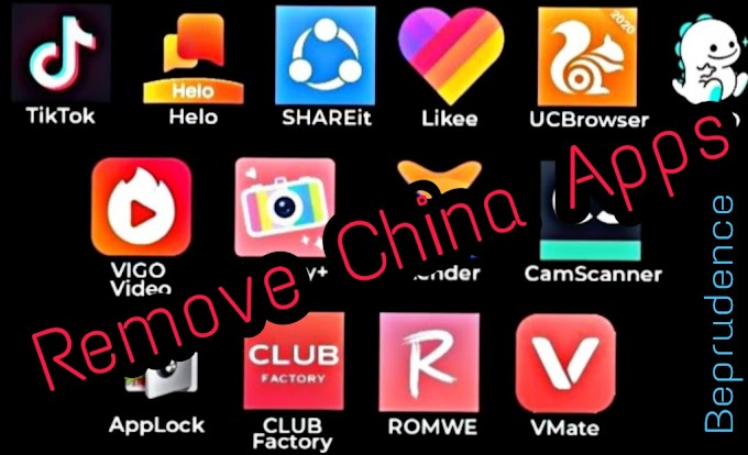 Remove China Apps: Here's a list