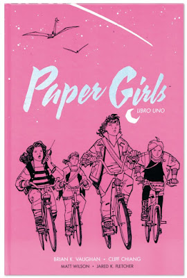 Paper Girls comic de Brian K. Vaughan y Cliff Chiang