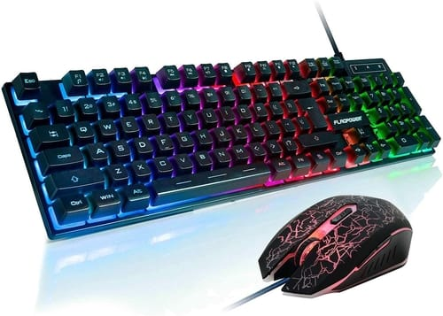Review FLAGPOWER Gaming Keyboard and Mouse Combo