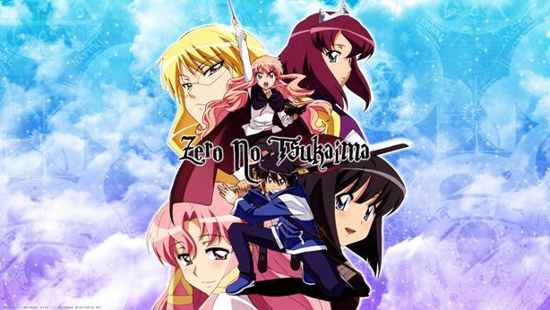 Zero no Tsukaima Daftar Anime Isekai Terbaik ( Tokoh Utama Masuk Dunia Lain )