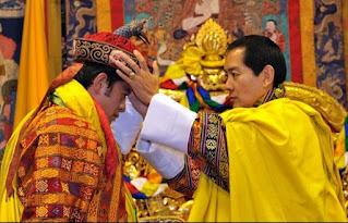 Coronation of the fifth Druk Gyalpo