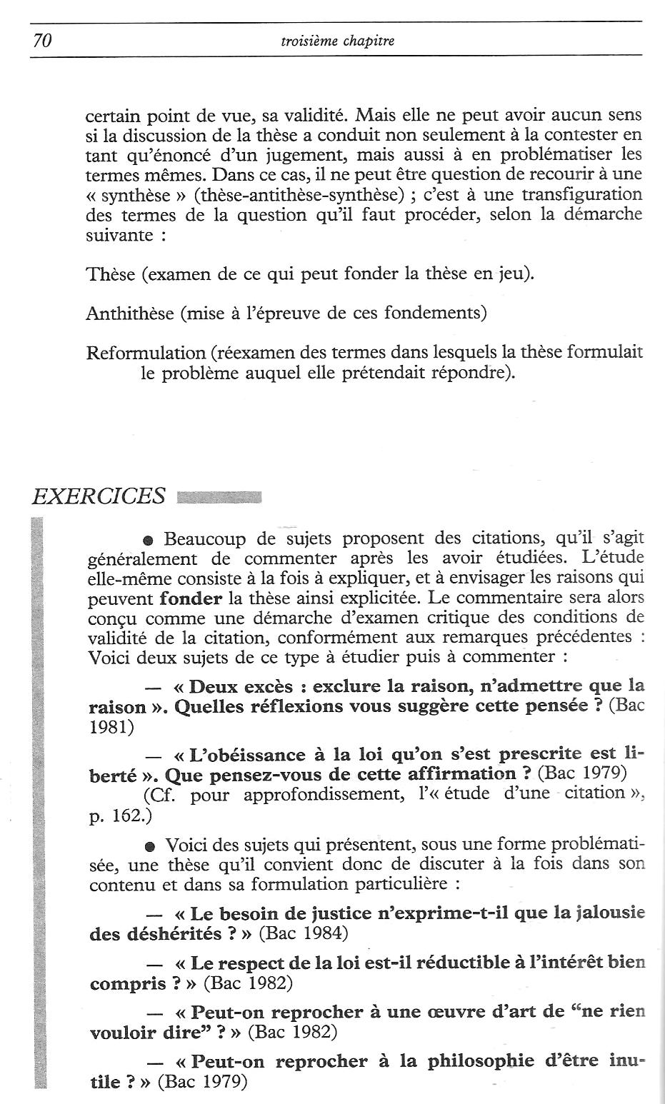 Dissertation philosophie sur la science