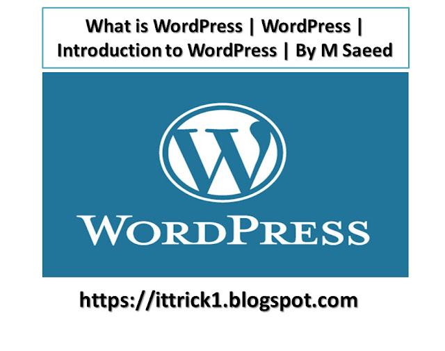 What is word press | Wordpress