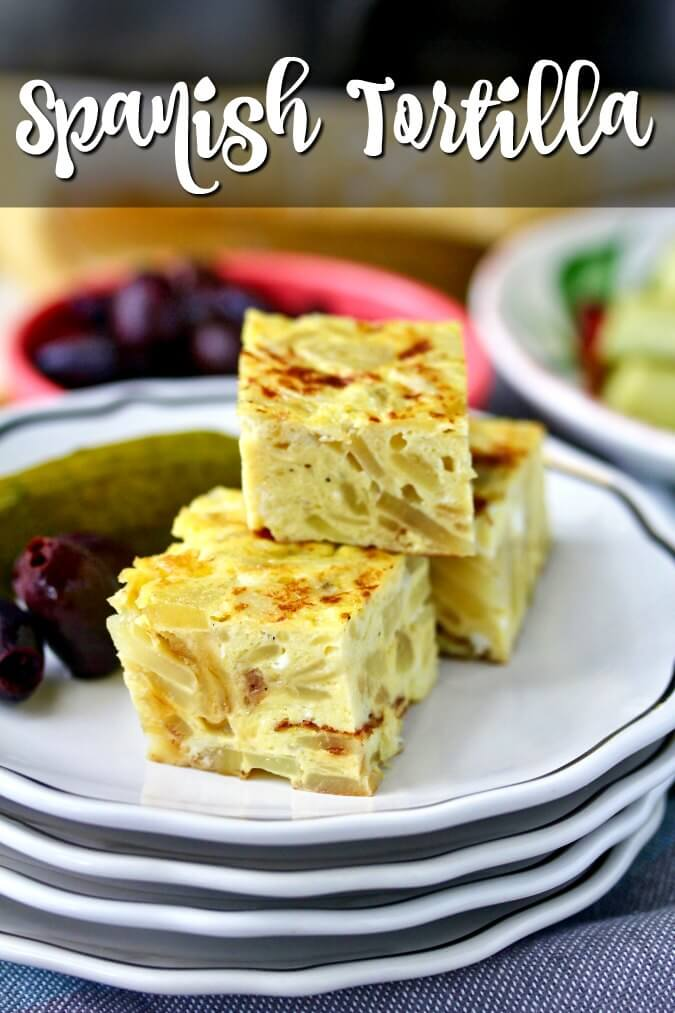 Spanish tortilla tapas wedges