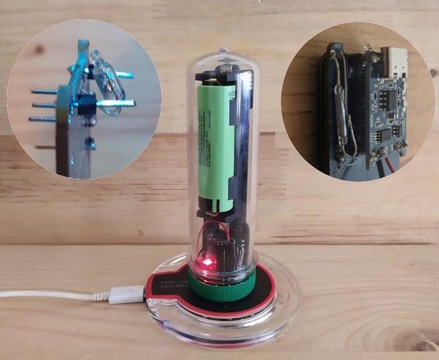 Mejoras iSpindel v2: Apagado por inclinación, carga inalámbrica (mejorada) y Botón Magnético.