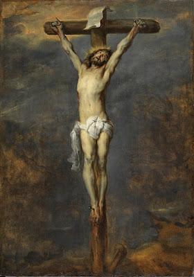 Christ on the Cross - Dyck, Anthony van. Museo Nacional Thyssen-Bornemisza