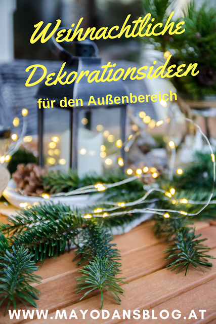 Naturdekoration für den Advent