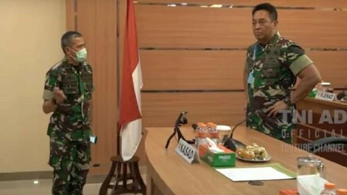 Video Detik-detik Dua Jenderal Bintang 2 TNI AD Disuruh Keluar