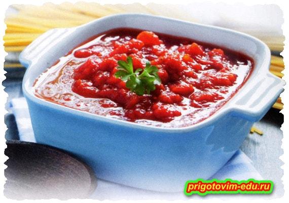 Соус-закуска из помидор