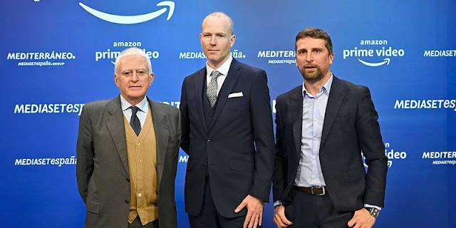 Amazon Prime Video y Mediaset acuerdo