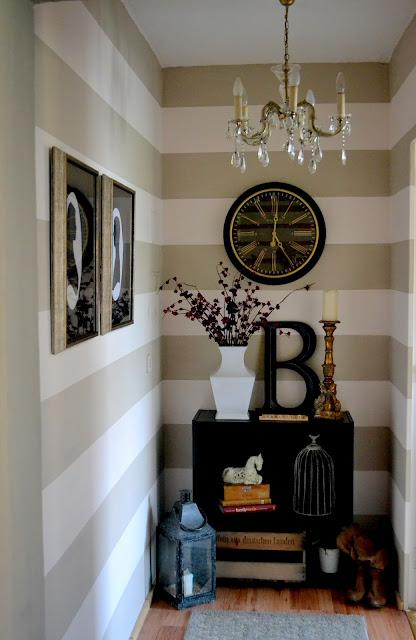 decoração do pequeno hall