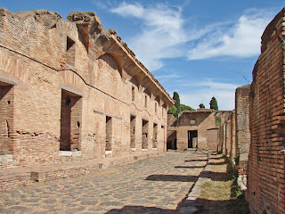 Some parts of Ostia Antica are stunningly well preserved