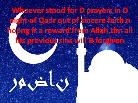 Quotes For Ramadan Wishes , Messages , sms
