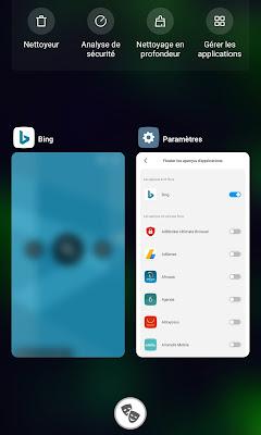 Flouter les aperçus d'application avec MIUI 11 sur Xiaomi : Mais comment ça marche?