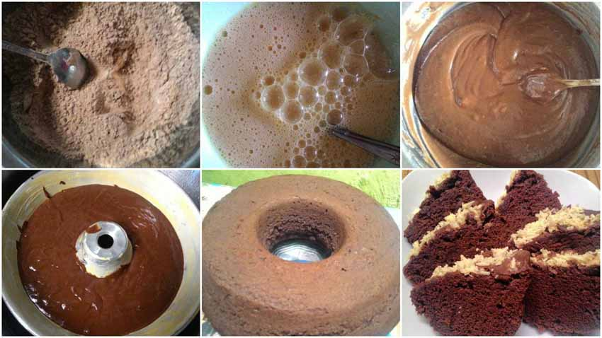 Resep Membuat Brownies Kukus Serba 3 Sendok Makan