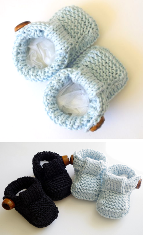 Baby Shoes - Free Knitting Pattern