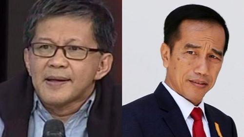 Kerap Mengkritik Rezim Saat Ini, Ternyata Dulu Rocky Gerung Pernah Dukung Jokowi Jadi Presiden