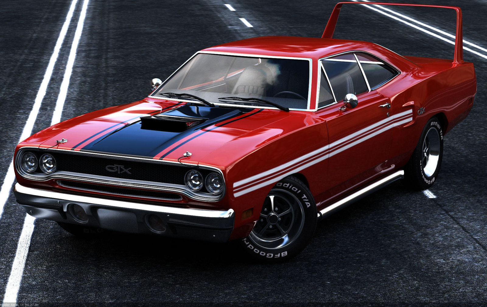 Lucky Laki: This ! ... Is American Muscle
