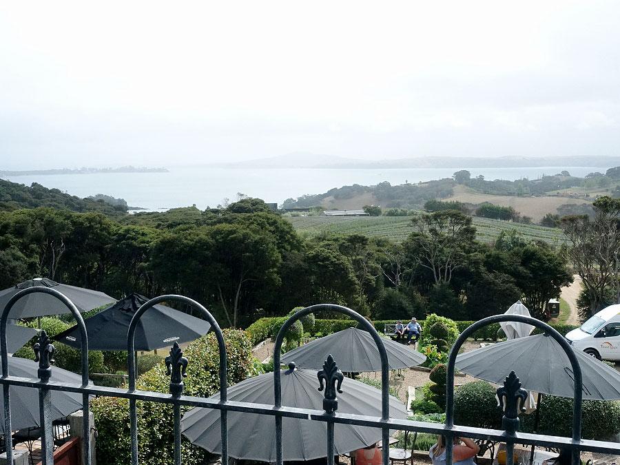 View from Mudbrick Vineyard & Restaurant