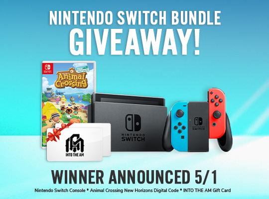 SORTEIO De Um Nintendo Switch + Jogo Animal Crossing + Gift Card!!