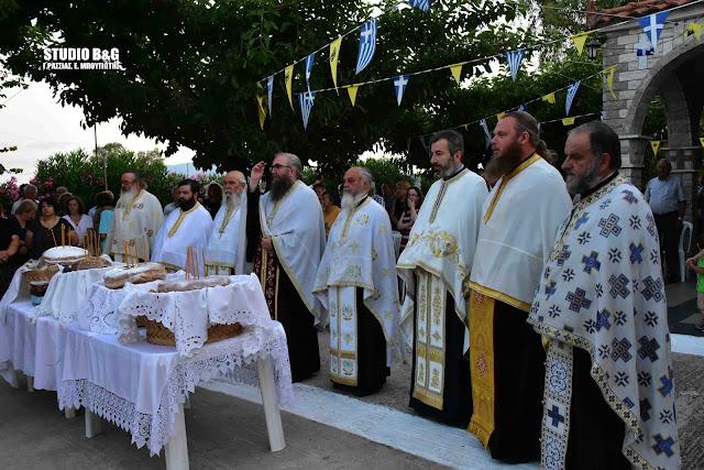 Η εορτή του Αγίου Παντελεήμονα στη Δαλαμανάρα Άργους