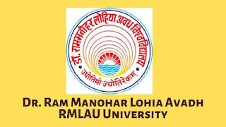 RMLAU University UG, PG Admission Online Application Form 2021