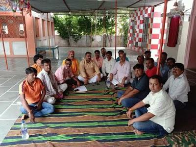बैठक : बैराड़ में दूसरी बार निकलेगी 151 मीटर लंबी चुनरी यात्रा | Bairad News