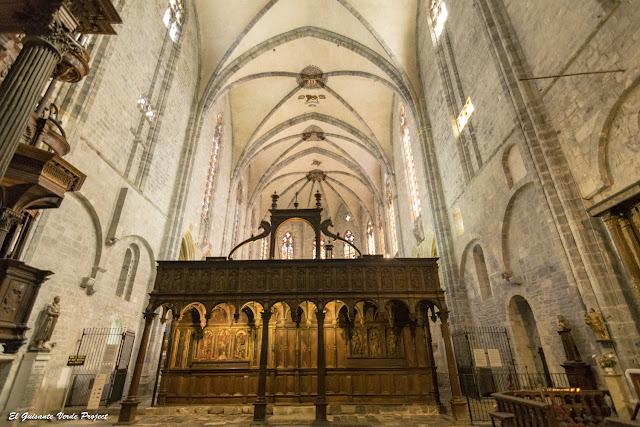Nave gótica y jube de Catedral de Santa María, Saint Bertrand de Comminges por El Guisante Verde Project