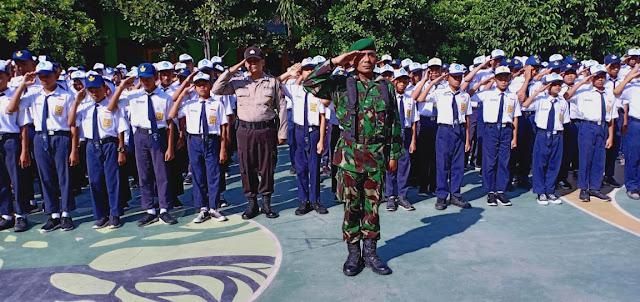 Batuud Ikuti Upacara Memperingati Hari Sumpah Pemuda Di Halaman Kecamatan Tangen
