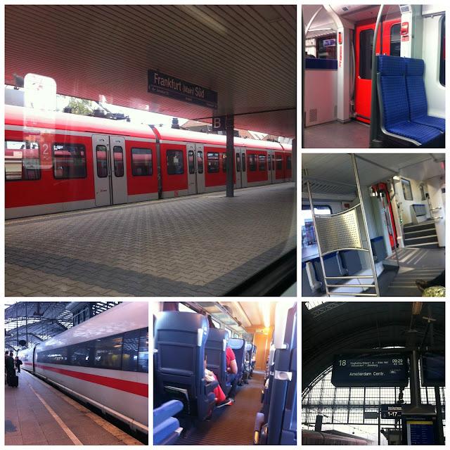 trens na Alemanha