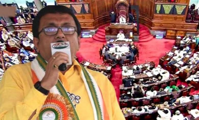 Trinamool MP Shantanu Sen has been suspended from the Rajya Sabha