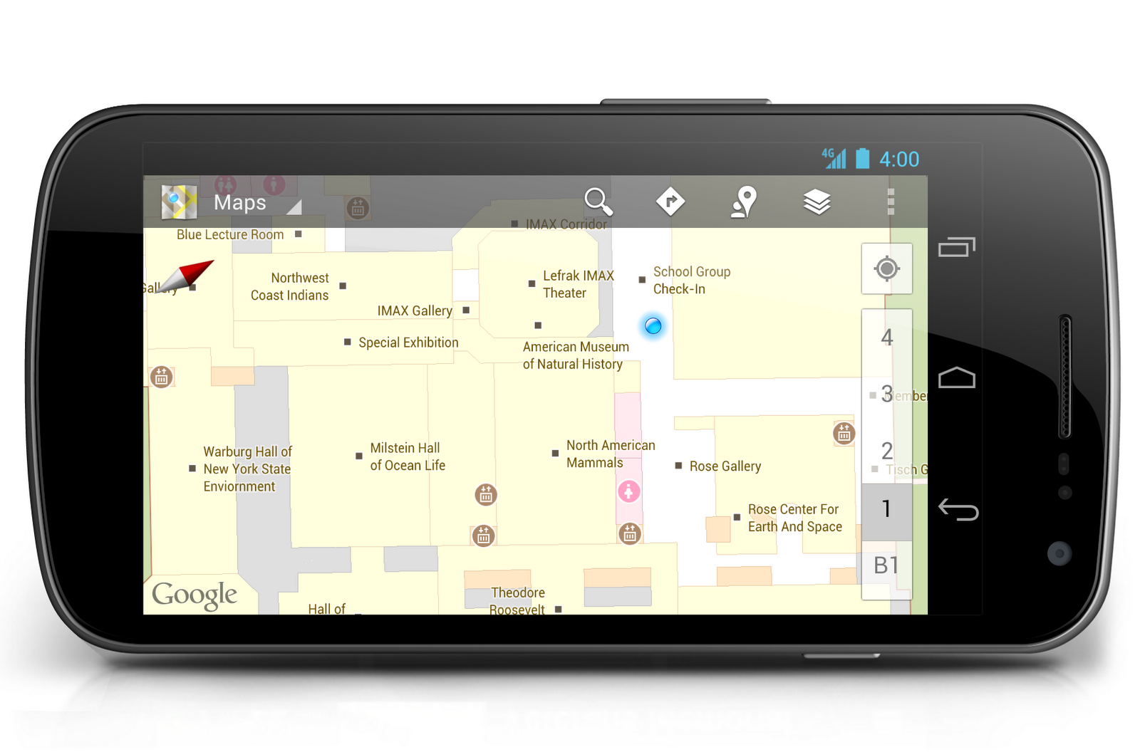 Mapas offline Google Maps