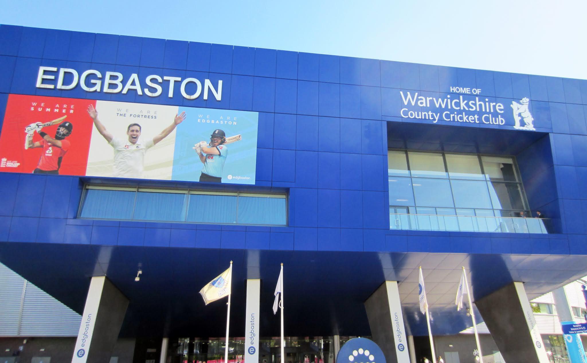 Edgbaston Stadium main entrance