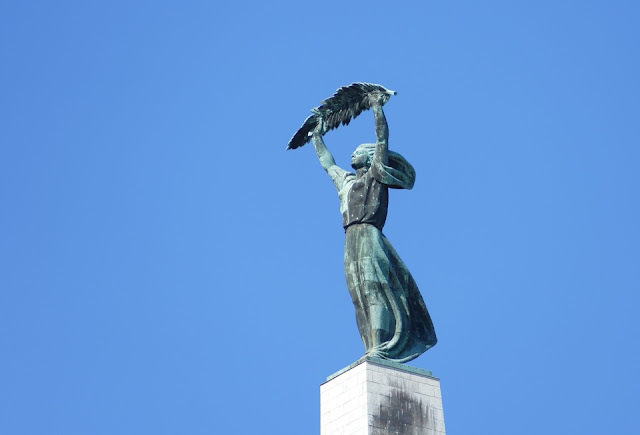 Liberty Statue at Gellért Hill