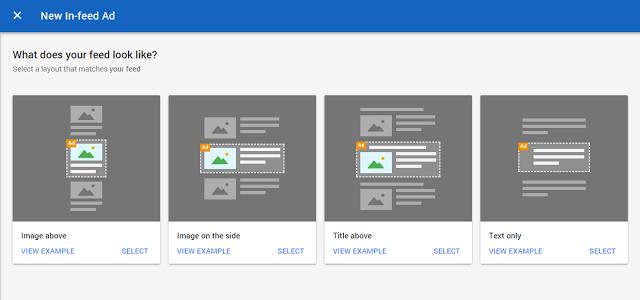 Bagaimana Cara menambah Iklan In-Feed Ads Google Adsense