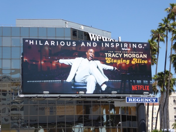 Tracy Morgan Staying Alive Emmy FYC billboard