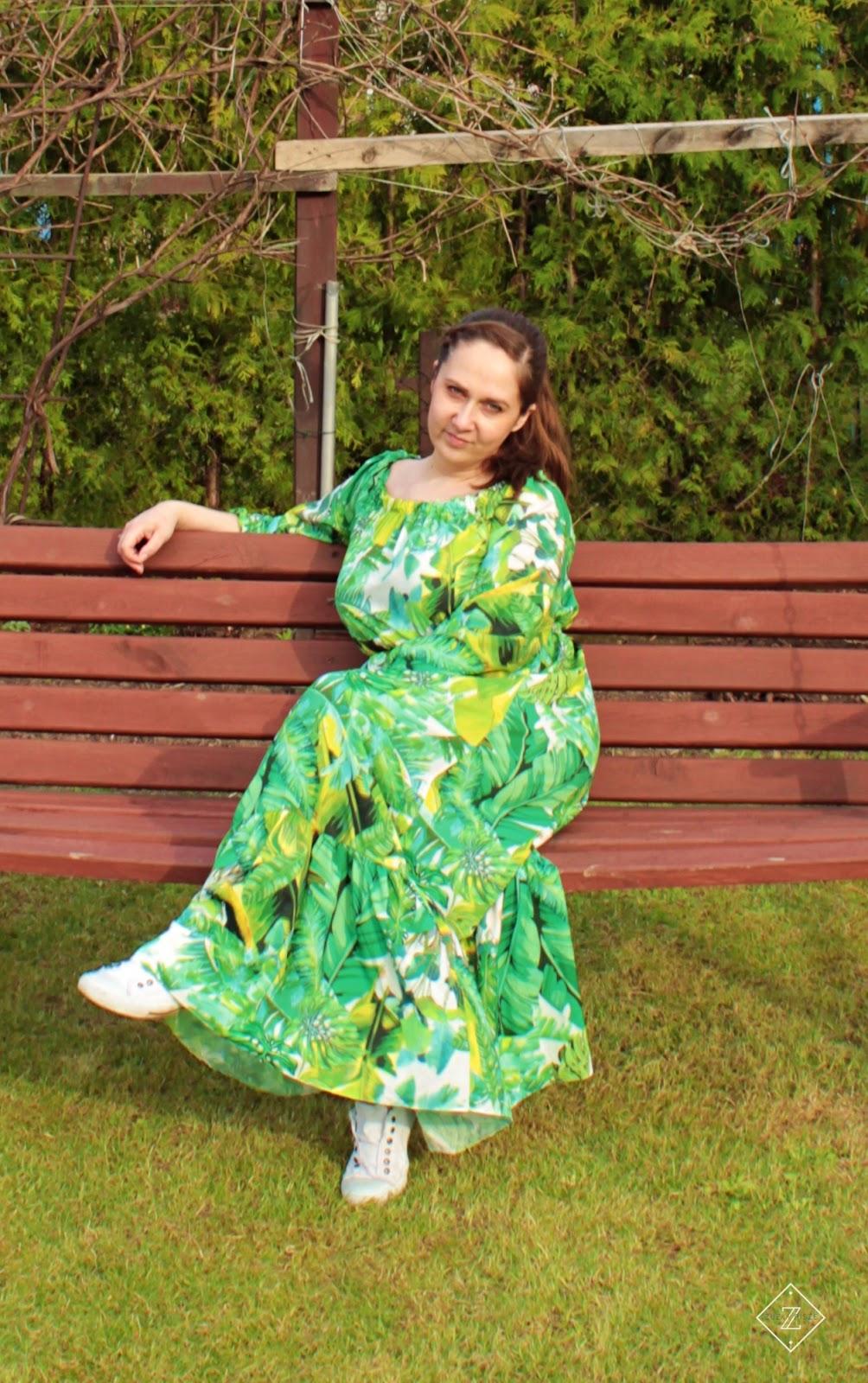 Sukienka MAXI Bananas - Mosquito