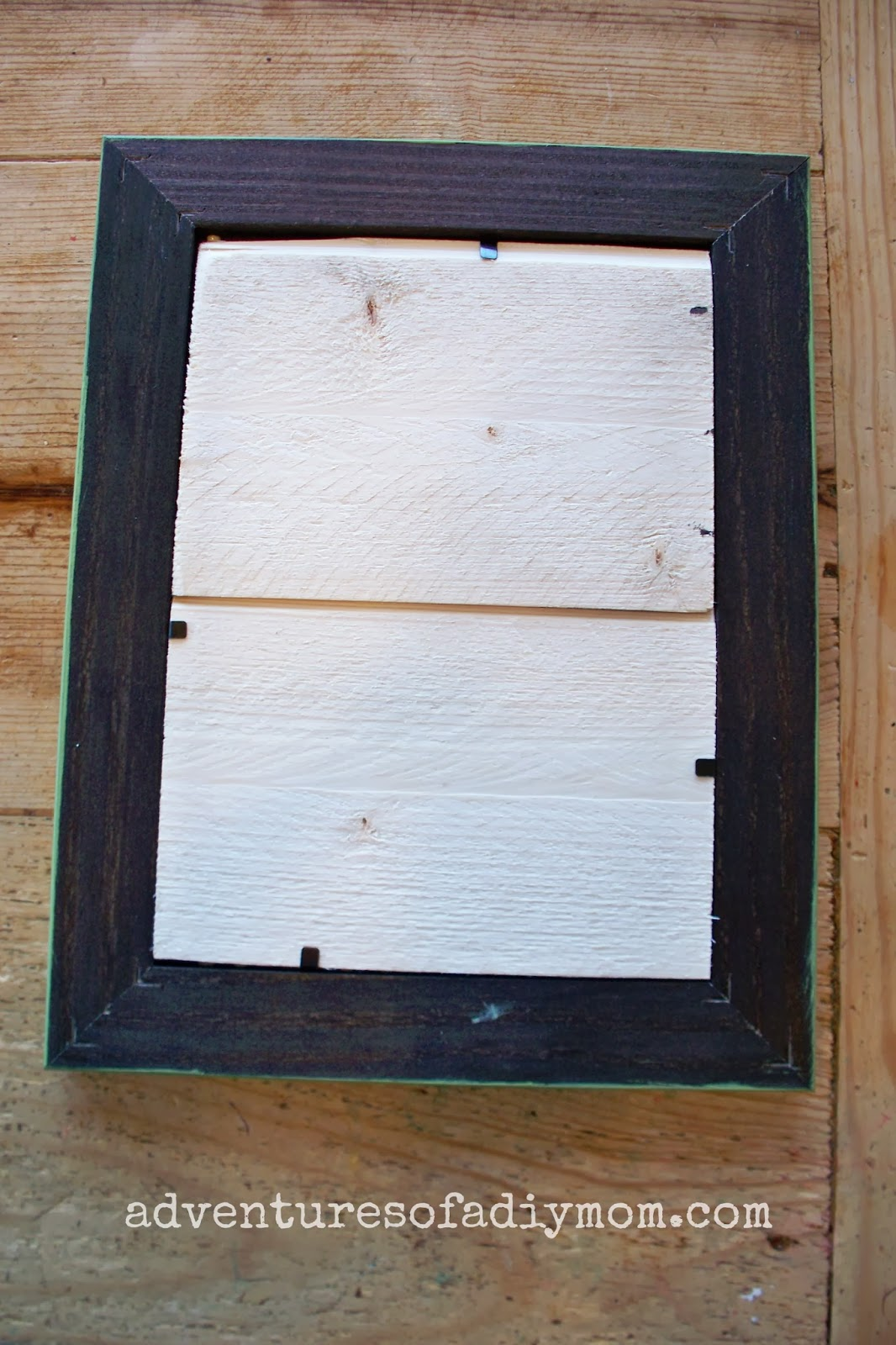How to Make a beadboard picture Frame