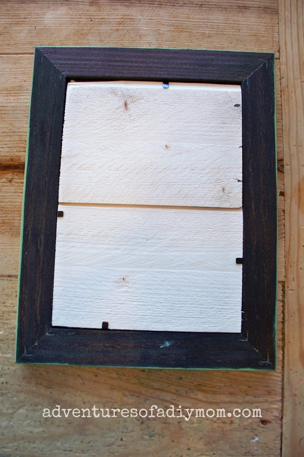 How to make a beadboard picture frame adventures of a diy mom how to make a beadboard picture frame jeuxipadfo Choice Image