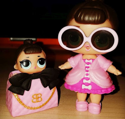 L.O.L. Surprise Dolls Sisters Fancy and Lil Fancy set